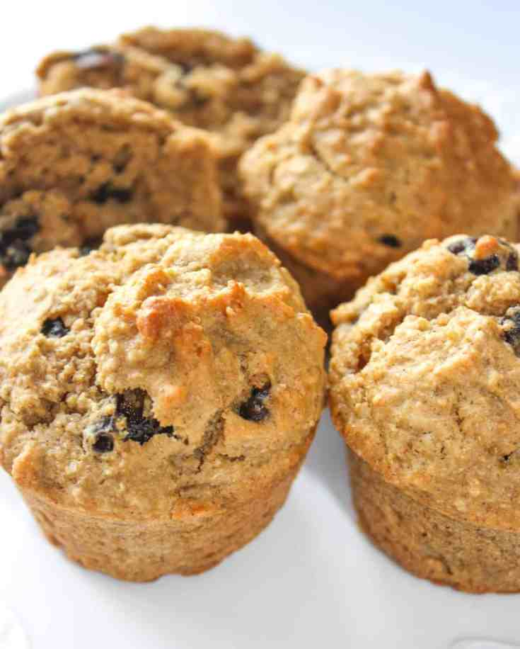 Raisin Oat Bran Muffins - Gluten Free