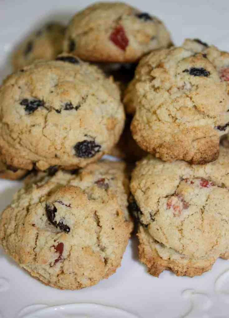 Festive Fruit Cookies - Gluten Free