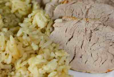 Instant Pot Pork Tenderloin and Rice is a simple meal that can be dressed up easily for any special occasion.