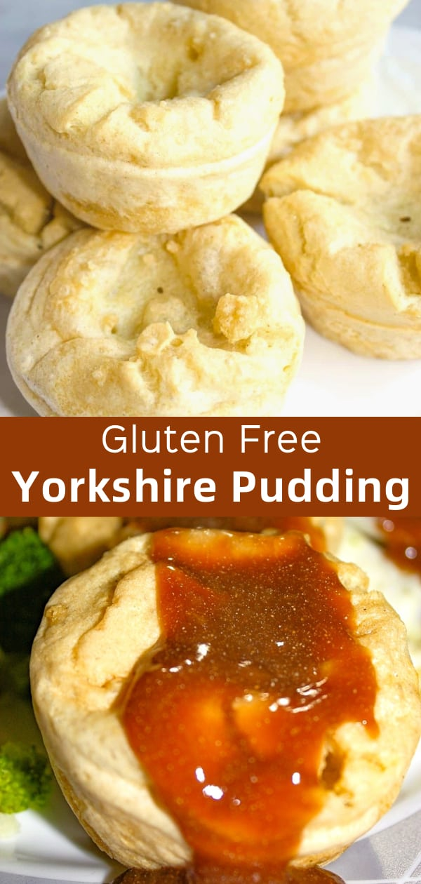 Gluten Free Yorkshire Pudding is a delicous side dish recipe for roast beef and prime rib dinners.