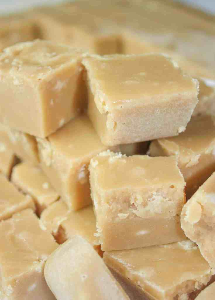 Maple Fudge is a creamy, decadent treat that will get you rave reviews. This easy recipe does not require a candy thermometer and can be made in minutes. Then just let it harden and enjoy!