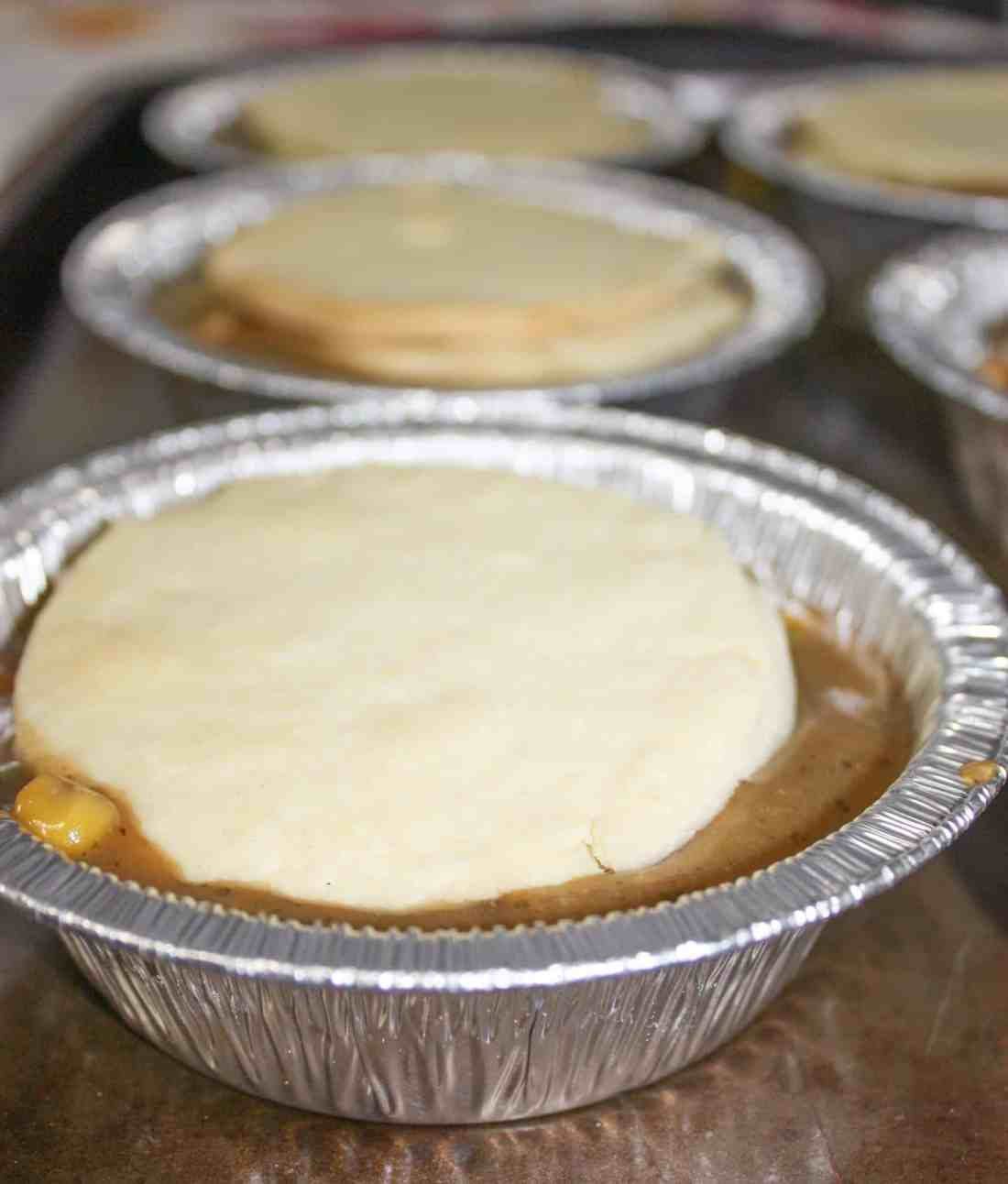 Now that Canadian Thanksgiving is behind us this Turkey Pot Pie is a quick and easy way to use up some of that leftover turkey!