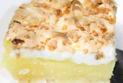 Lemon Pie Squares are a light citrus dessert that make a great ending to any meal.  This easy dessert is a tasty treat that really hits the spot in the spring and summer weather.