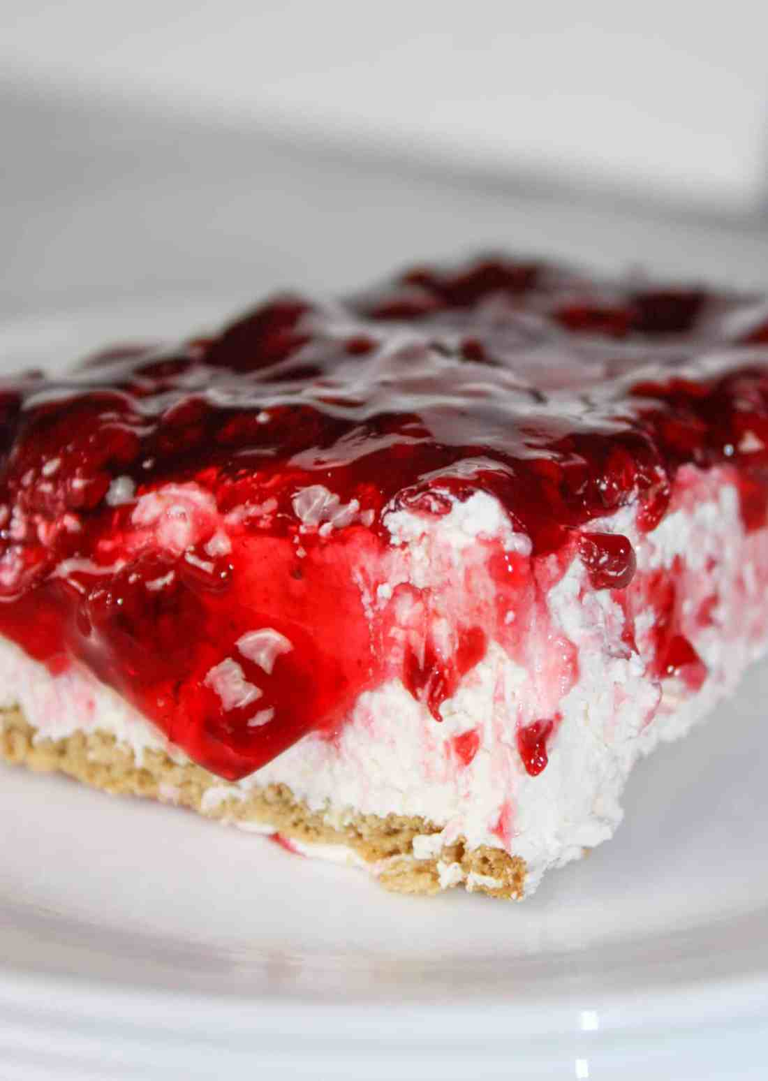 No Bake Cheesecake is a light and delicious dessert that can be topped off to suit your own tastes. You won't believe it contains very little dairy and is gluten free!