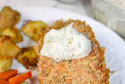 Salmon Loaf is an easy casserole type recipe that is a staple in our home. This gluten free seafood recipe is quick to mix up and a great alternative to serve on Fish Fridays.