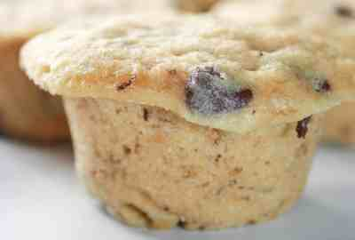 Microwave Banana Chip Muffins make it easy to use up those older bananas when you do not have much time. This gluten free recipe can be made in about 20 minutes from start to finish!