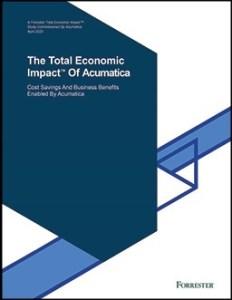 Total Economic Impact of Acumatica