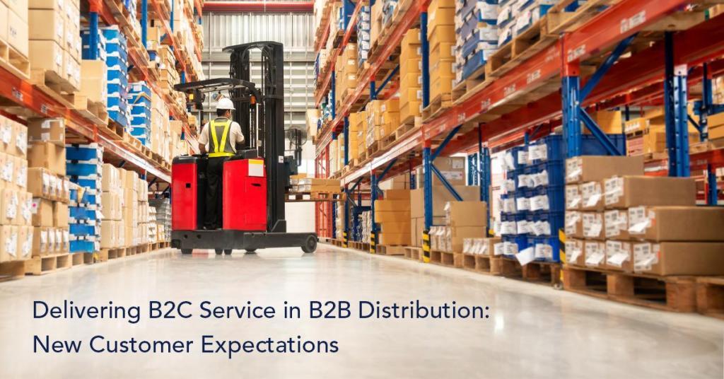B2C Service in B2B Distribution