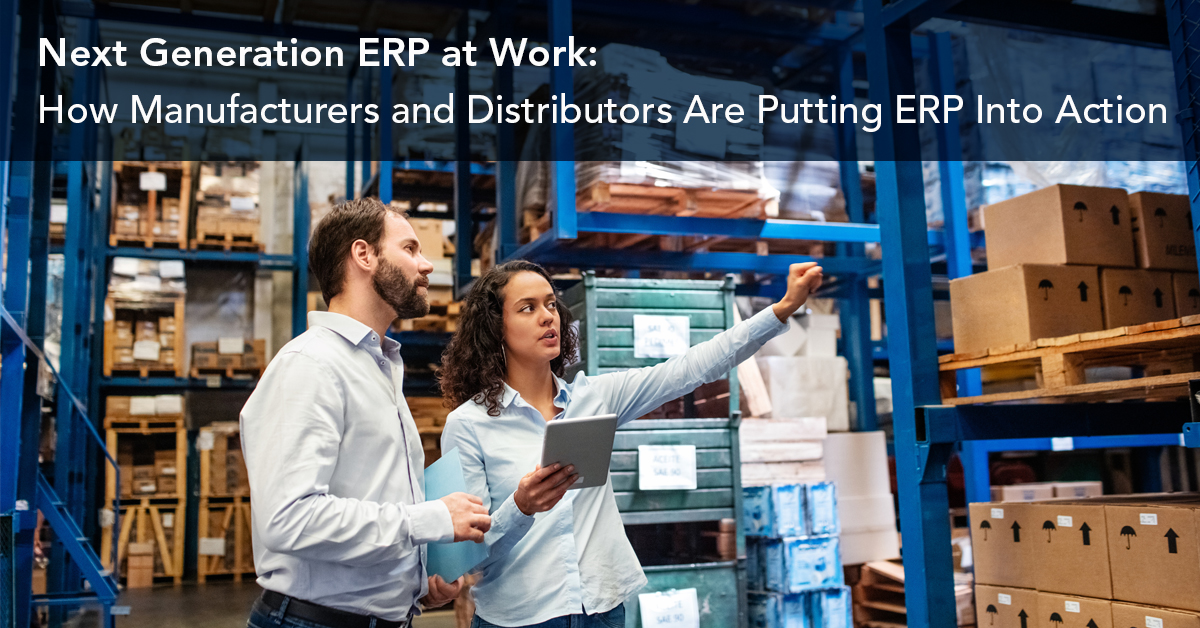 Manufacturer and Distributors ERP