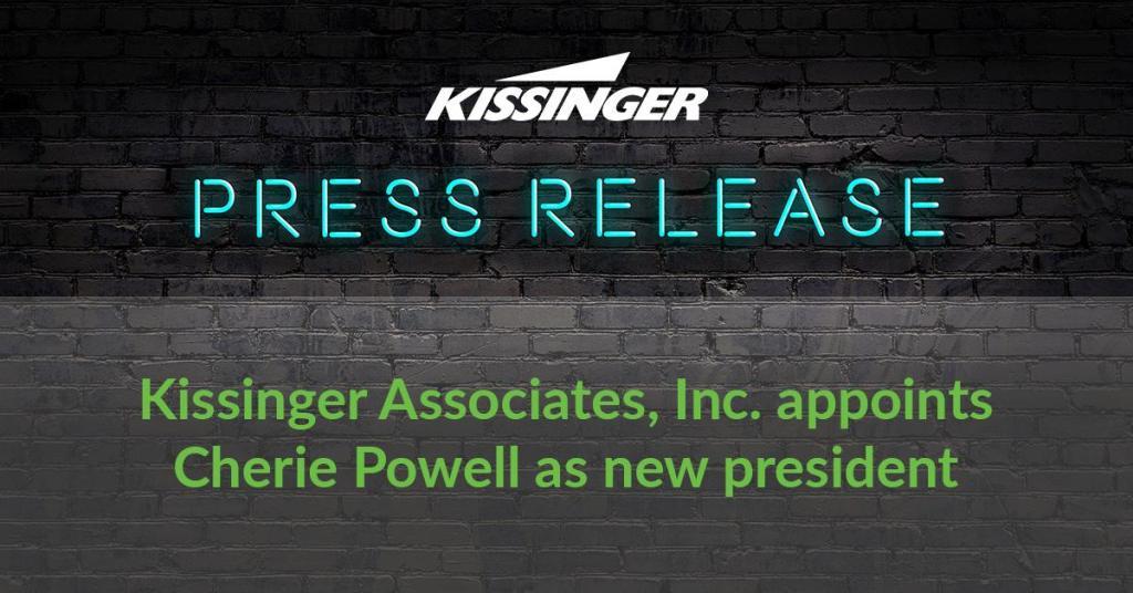Kissinger Associates, Inc. appoints Cherie Powell as new president