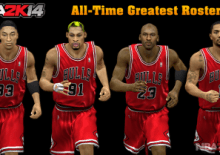 【Pc】NBA 2k14【MOD補丁Path】全時代全明星名單All-Time Greatest Roster (Legends + Current)