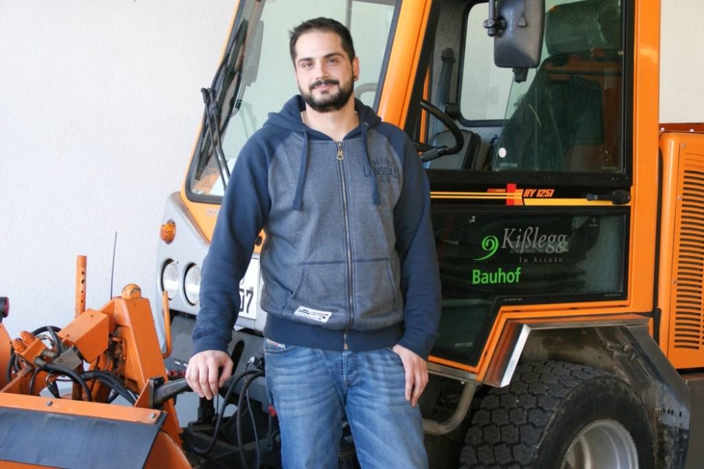 """""""Die wichtigste Maschine im Winterdienst, ist unsere Kaffeemaschine"""" scherzte der stellvertretende Bauhofleiter Daniel Ott im Gespräch."""