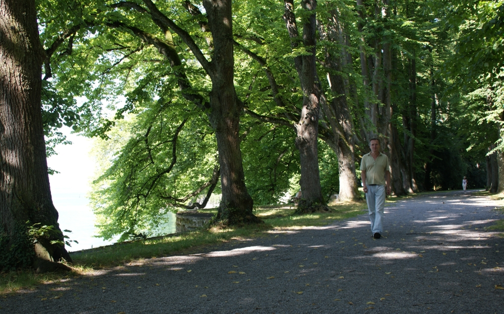 Andreas Scholz im Lindenhof Park