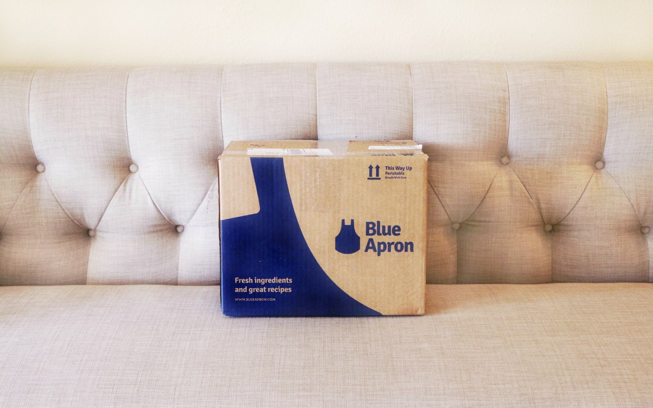 My Ride on the Blue Apron Bandwagon