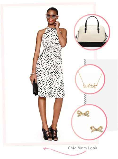 Awesome and Affordable Dresses and Accessories from the kate spade Surprise Sale: Chic Mom Look #fashion #outfit #ootd