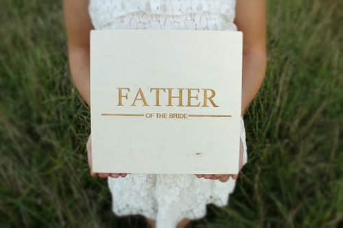 10 Great Ways the Bride Can Show the Father-of-the-Bride a Little Wedding Day Love    Kiss My Tulle
