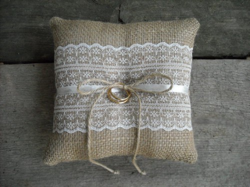 Wedding Ring Pillow Options and Alternatives