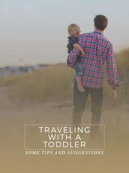 Some Tips And Suggestions For Traveling With A Toddler