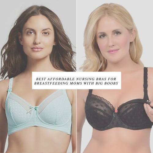 Best Affordable Nursing Bras For Breastfeeding Moms With Big Boobs 4