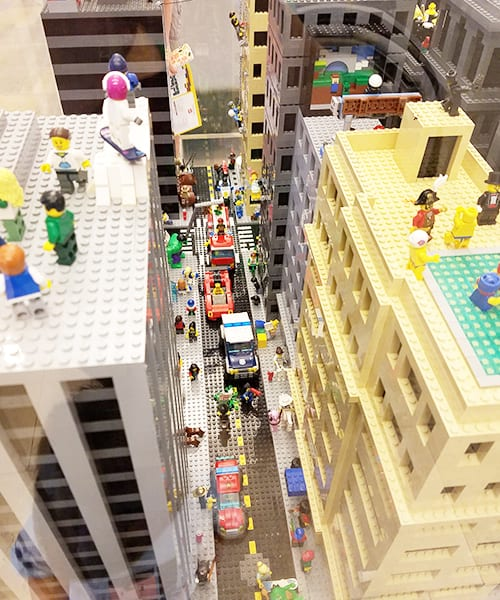 Family-Friendly Fun For All Ages At The LEGO® Americana Roadshow At The North Star Mall #ad
