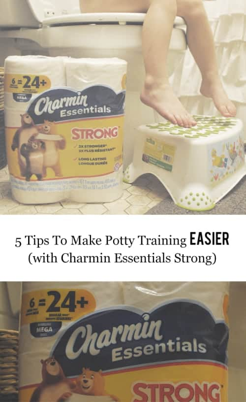 My Top 5 Tips To Make Potty Training Easier (with Charmin Essentials Strong) #CharminEssentials #ad