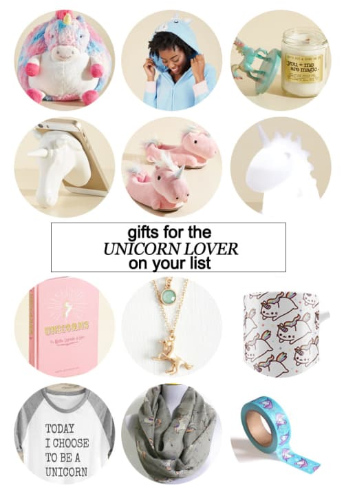Gifts For The Unicorn Lover On Your List