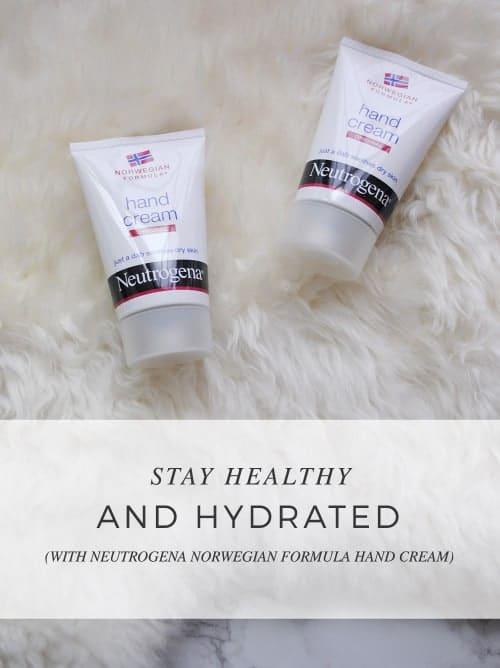 Stay Healthy And Hydrated With @Neutrogena® Norwegian Formula® Hand Cream #HandCream #IC #ad