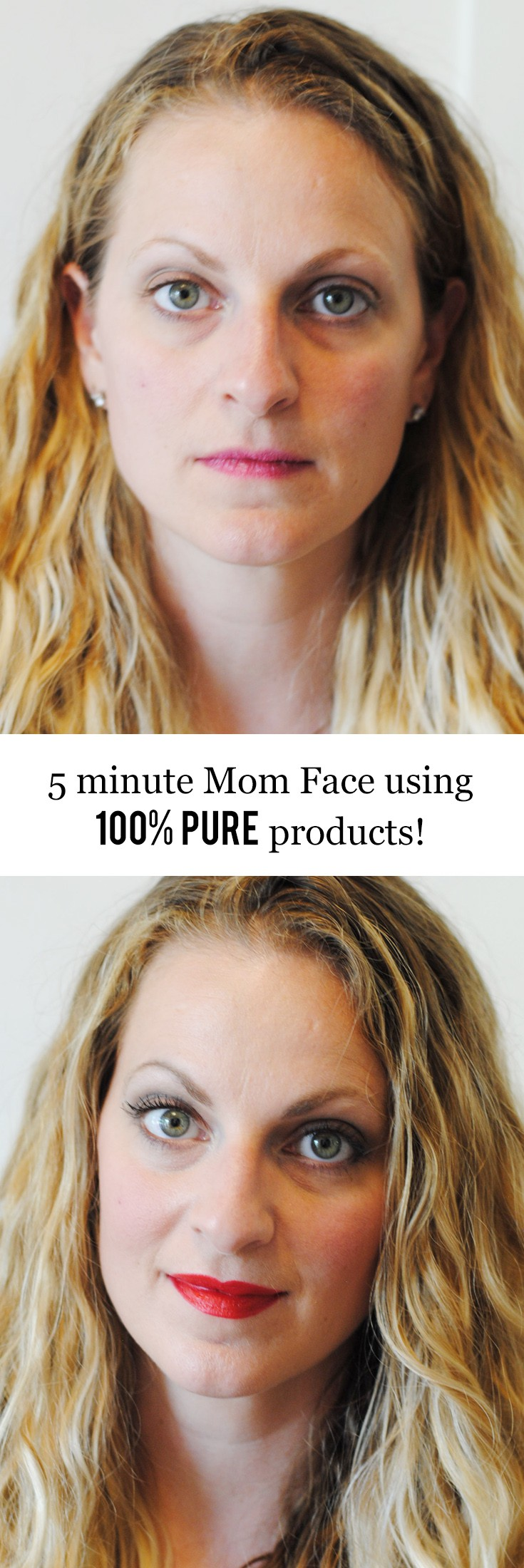 5 Minute Mom Face with 100% Pure