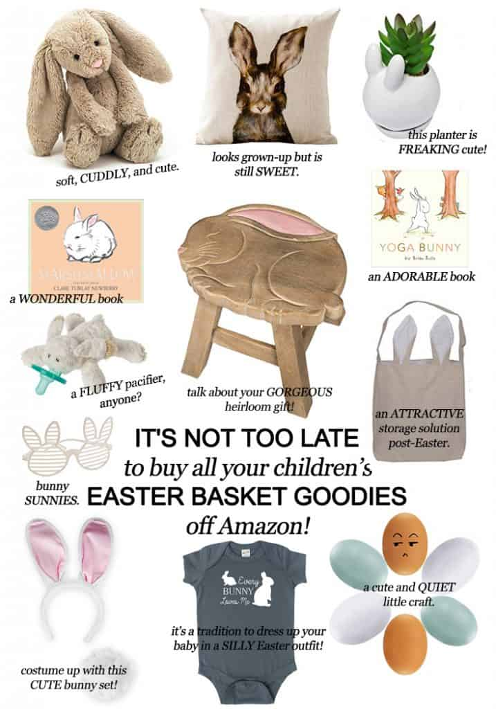 It's Not Too Late to Buy all your Children's Easter Basket Goodies Off Amazon!