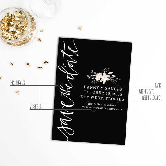 The Only 5 Things That Need To Be On Your Save The Dates