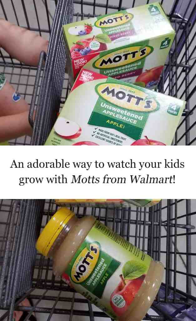 An Adorable Way to Watch Your Kids Grow with @Motts from @Walmart #ad #free #WatchMeGrow #Summer
