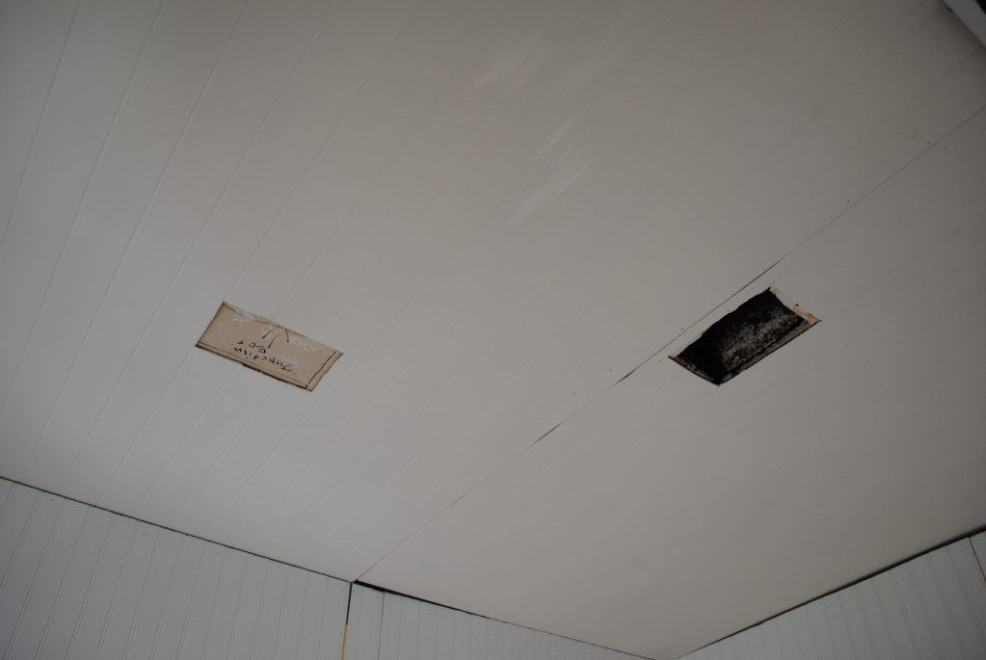 Master Bathroom: Floors Joists and SubFloor and Ceilings... Oh My!