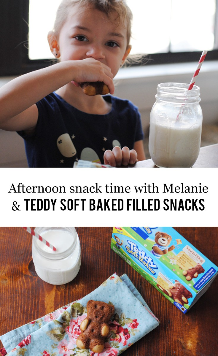 Afternoon Snack Time with Melanie and TEDDY SOFT BAKED ...