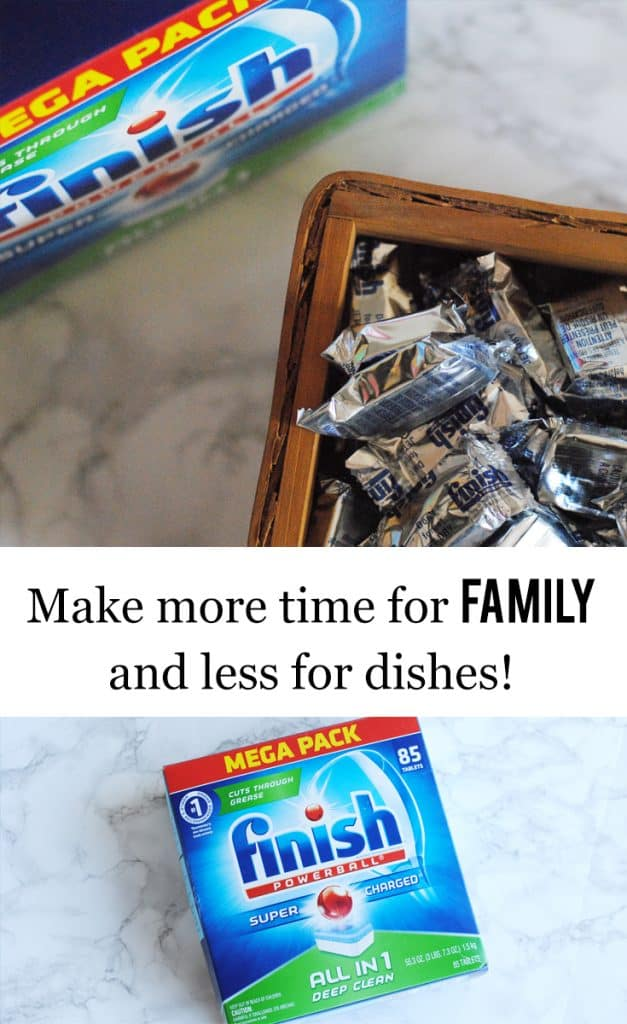 Make More Time for Family and Less for Dishes
