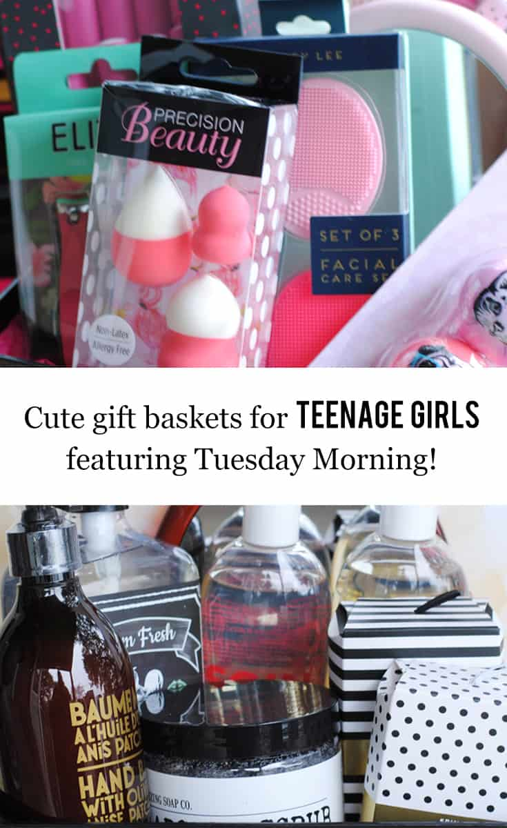 cute gift baskets for teenage girls featuring tuesday morning shopping holidays christmas