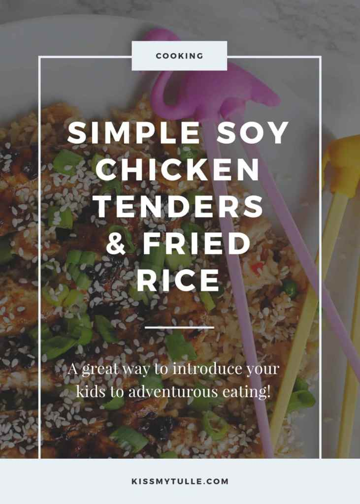 Simple Soy Chicken Tenders with Fried Rice #LingLingFriedRice #IC #ad #food #cooking #recipe #friedrice #kidfriendly #Asiancooking