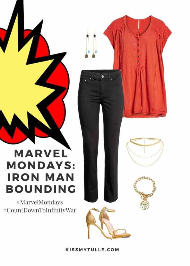 Marvel Mondays: Iron Man Bounding #MarvelBounding #MarvelMovies #IronMan #CountDownToInfinityWar #MarvelMondays