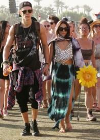 Vanessa Hudgens and Austin Butler at Coachella Day 3