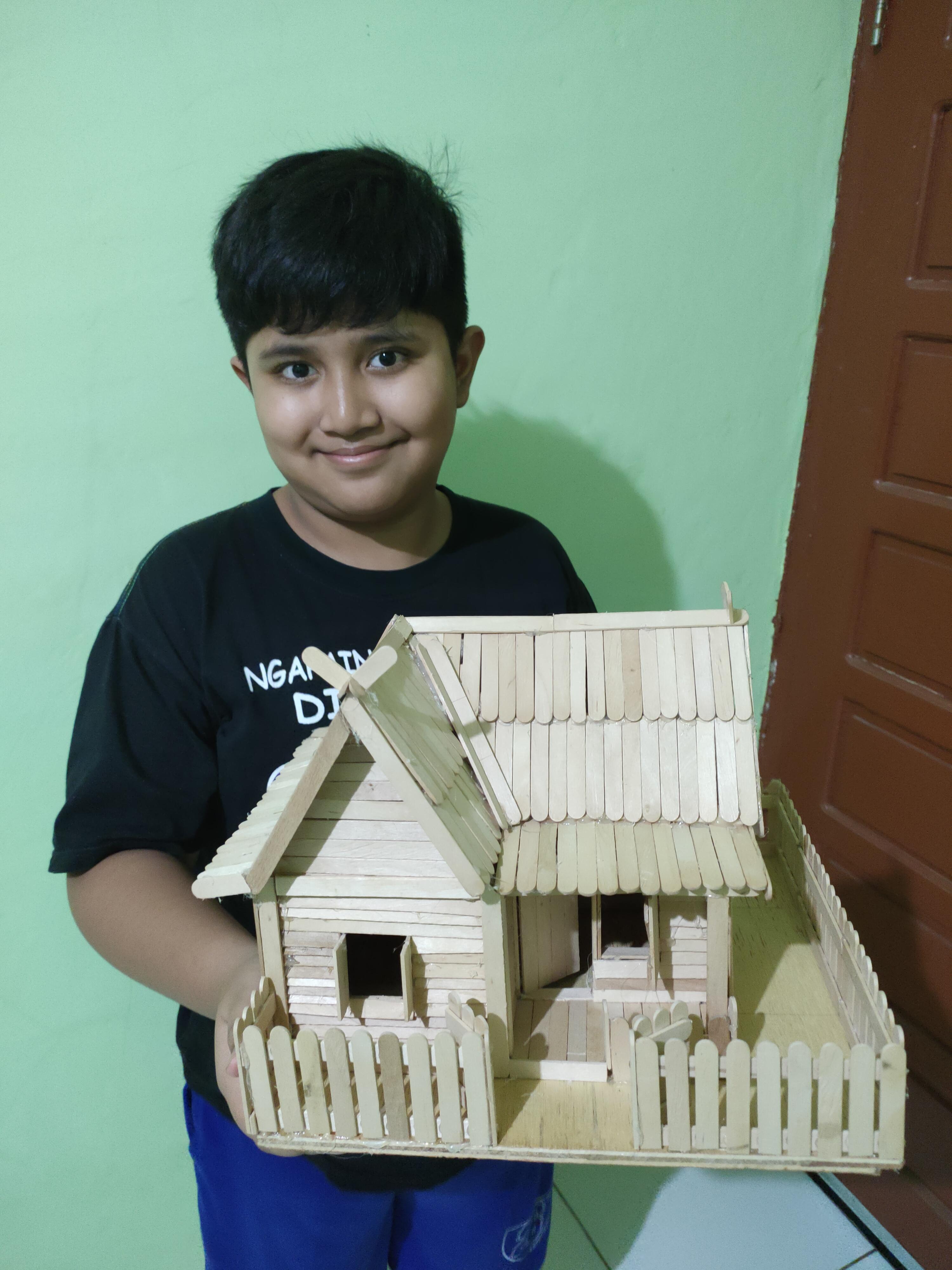 Cara Membuat Miniatur Gedung : membuat, miniatur, gedung, Membuat, Miniatur, Rumah, Berbahan, Krim,, Prakarya, Kelas, Kissparry