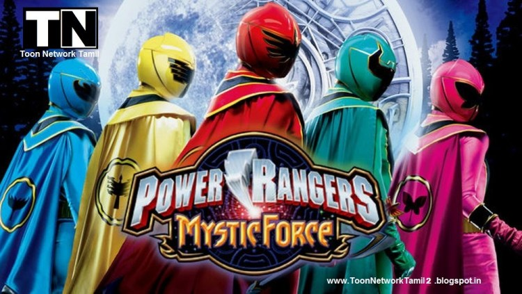 Power Rangers: Mystic Force Tamil Episodes