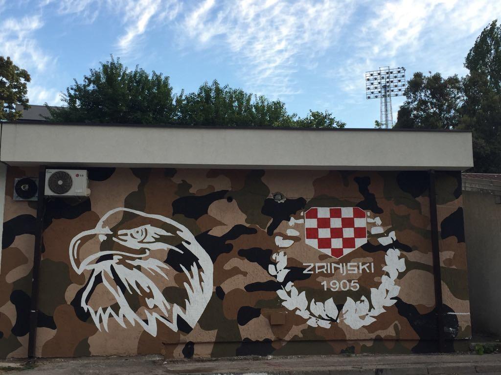 Bijeli Brijeg stadium in Mostar's Western Part