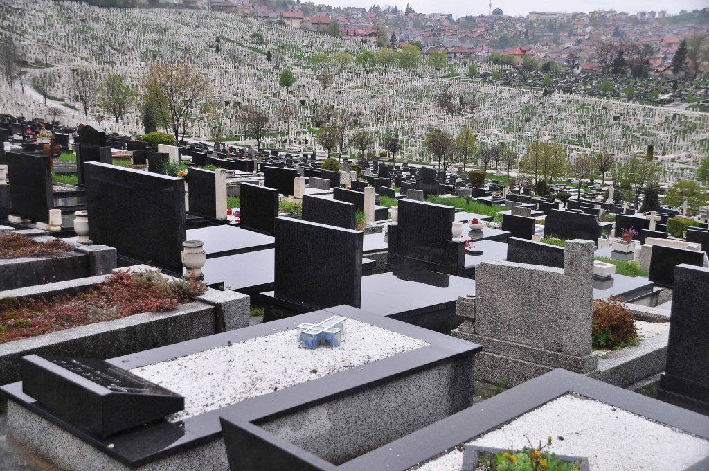 Bare Cementery in Sarajevo is one of the biggest in Europe