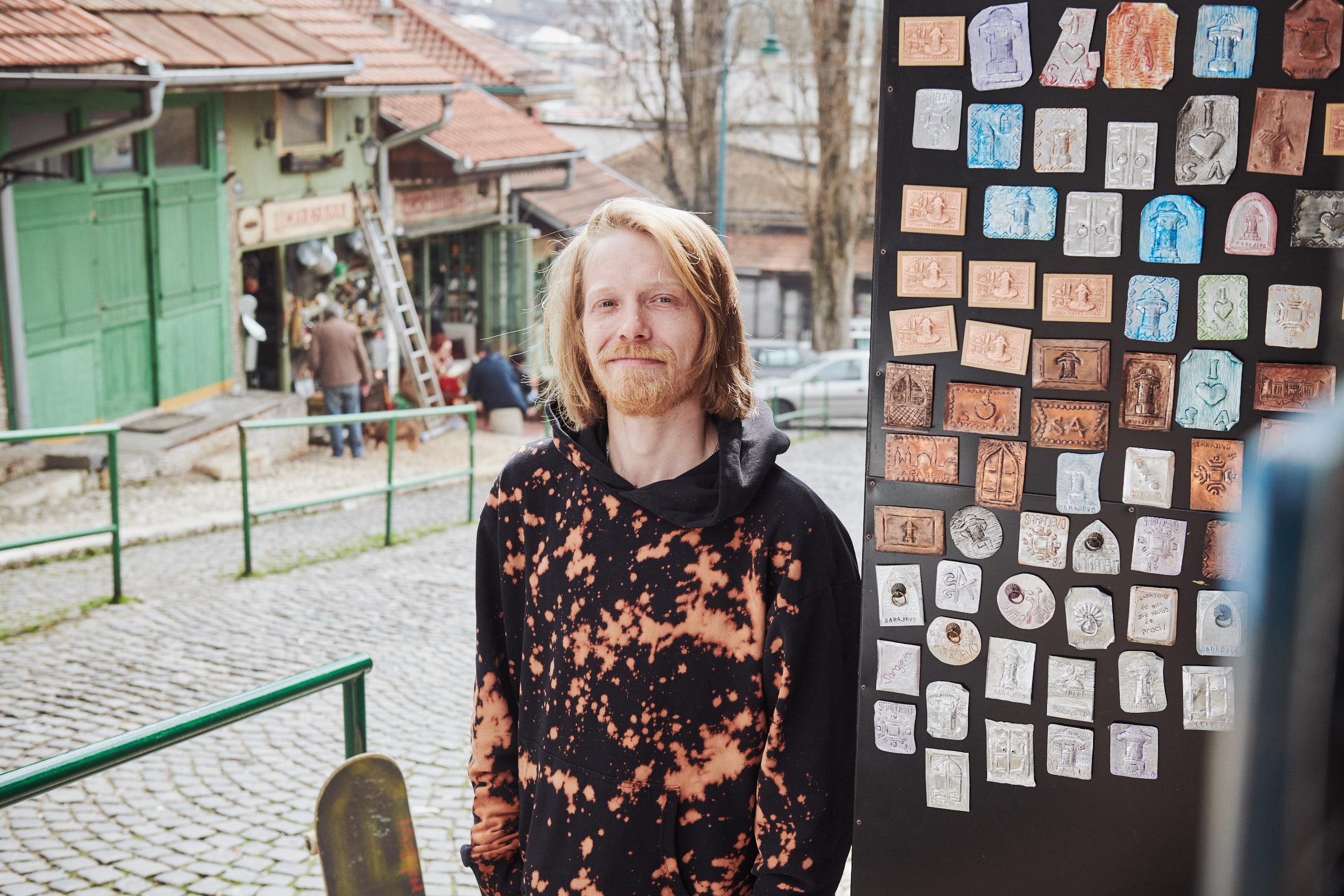 Kovaci Street in Sarajevo