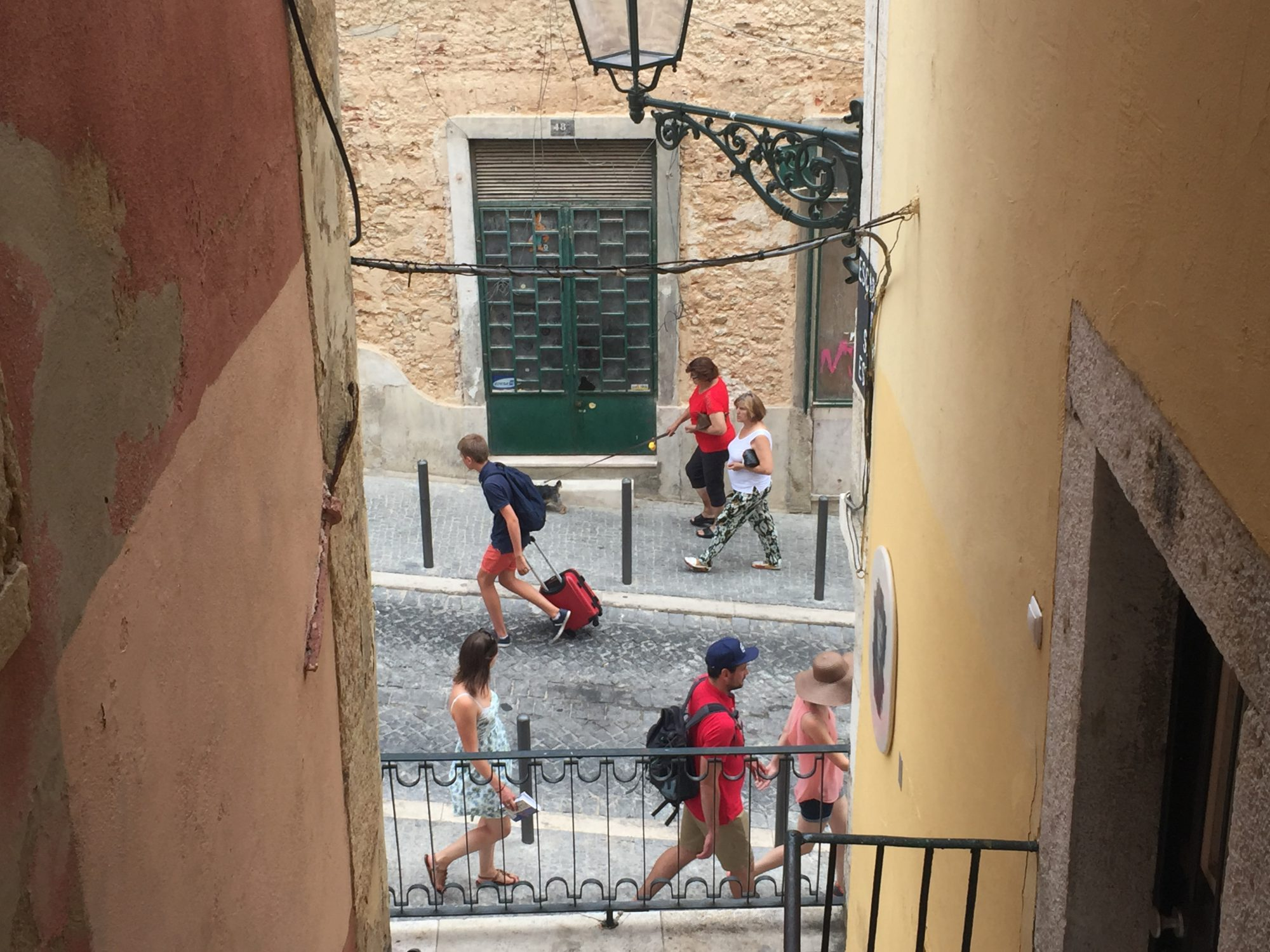 Cobblestones, Trolleys and Flipflops: Daily life in Alfama