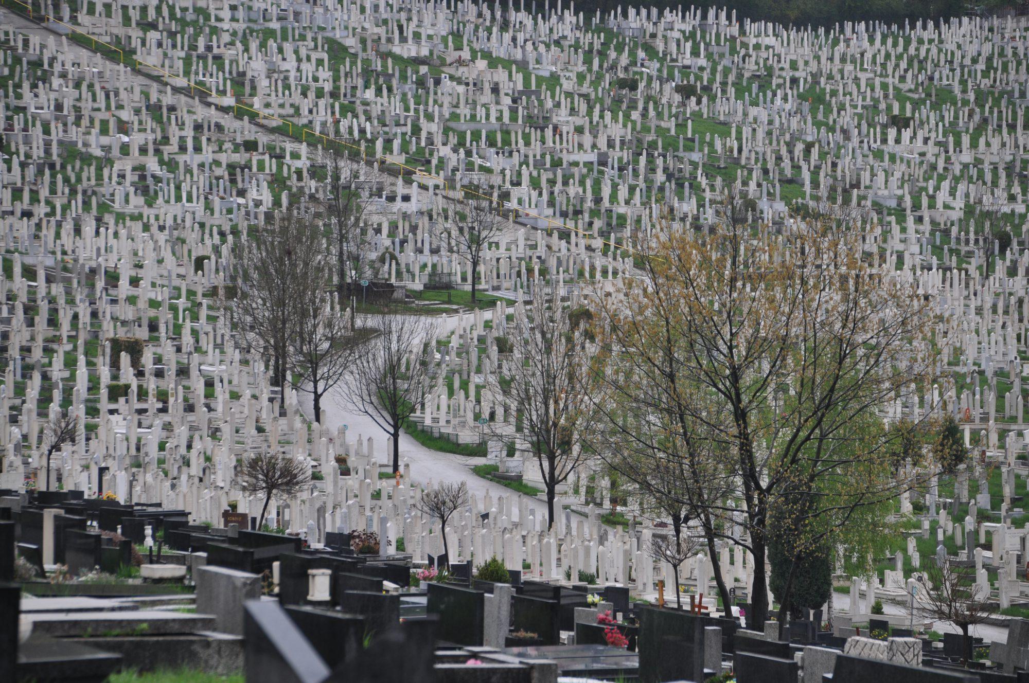 Bare Cemetery in Sarajevo