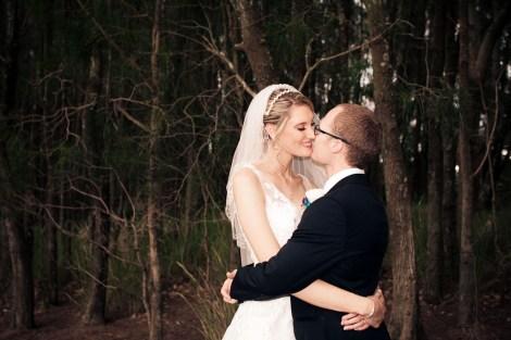 lakelands golf club wedding talia tim kiss the groom-61