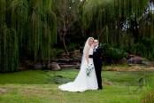 lakelands golf club wedding talia tim kiss the groom-63