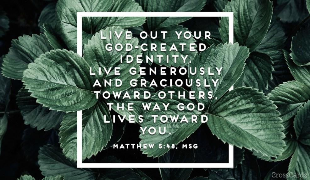 Matthew 5:48