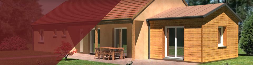 Prix maison 20m2 mini maison avec mezzanine elena for Combien coute une extension de maison