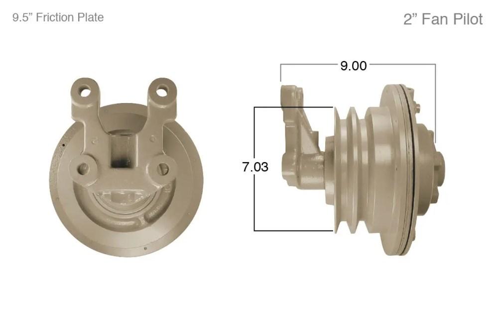 medium resolution of cummins fan clutch
